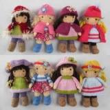 Как связать куклу спицами: схемы, описания. Вязаная одежда для кукол
