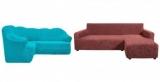 Чехлы на угловой диван своими руками: пошаговые инструкции, описание, фото